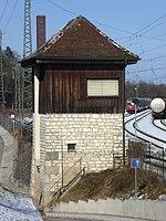 Treuchtlingen, Bahnhof, Altes Stellwerk, 1.jpeg