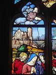 Triel-sur-Seine (78), église Saint-Martin, verrière n° 22, lancette de gauche.JPG