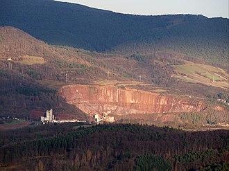 Albersweiler - Gneiss quarry