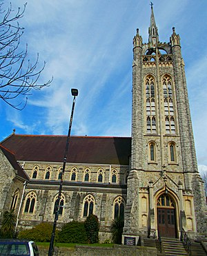 Trinity Church, Sutton - Image: Trinity Methodist Church, SUTTON, Surrey, Greater London