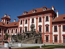 Im Jahr 1811 mietete Stein das Schloss Troja bei Prag als Sommerresidenz an. (Quelle: Wikimedia)