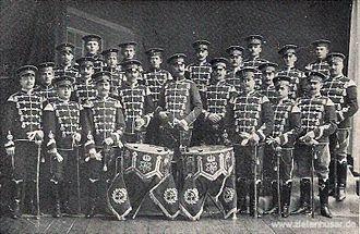 """Wilhelm Friedrich Wieprecht - The mounted band of the 3. Prussian Hussars """"von Ziethen"""""""