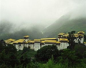 Penlop - Trongsa Dzong, seat of the Penlop of Trongsa