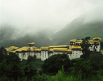 Penlop - Trongsa Dzong, seat of the Penlop of Trongsa
