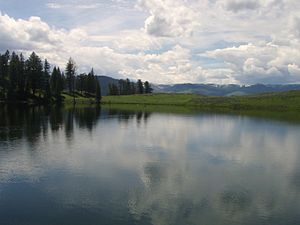 Trout Lake (Wyoming) - Trout Lake, June 2009