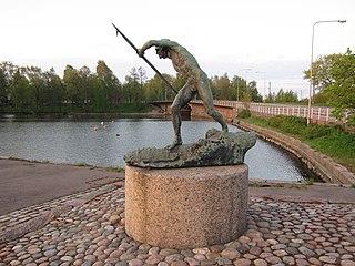 Tukinuittaja by Emil Wikström