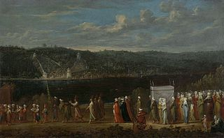 Wedding procession on the Bosphorus