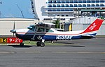 Twelve cadets from the University of Puerto Rico-Rio Piedras, Air Force ROTC Detachment 755 were given the opportunity to fly a Civil Air Patrol Cessna 182.jpg
