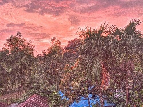 Twilight in Taraganj, Rangpur.jpg