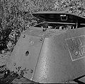 Two non-penetrating anti tank gun hits on a T-34.jpg