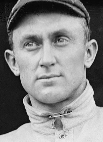 3,000 hit club - Image: Ty Cobb 1913 NPC detail 1
