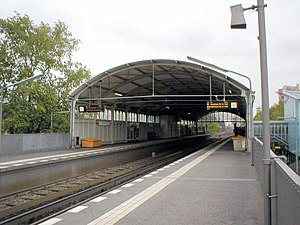 Prinzenstraße (Berlin U-Bahn) - U-Bahnhof Prinzenstraße, U1 platform