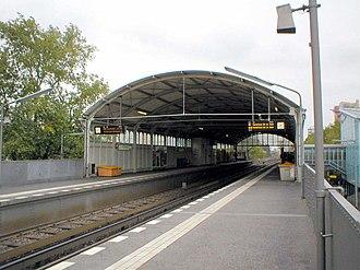 Prinzenstraße (Berlin U-Bahn) - Image: U Bahn Berlin U1 Prinzenstrasse