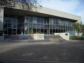 Universidad Autónoma Metropolitana - Image: UAM X Biblioteca