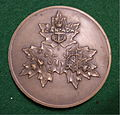 UNIFICATION of THE CANADIAN ARMED FORCES MEDAL 1968 b - Flickr - woody1778a.jpg