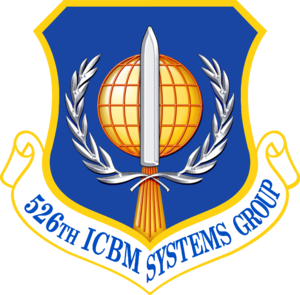 526th Intercontinental Ballistic Missile Systems Group - 526th Intercontinental Ballistic Missile Systems Group emblem