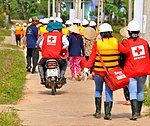 USAID, Red Cross Support Disaster Response Drill in Duy Hoa Commune, Quang Nam Province (8249534078).jpg