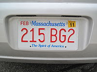 USA licenceplate Massachusetts.JPG