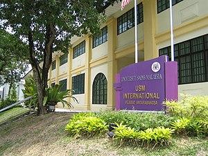 University of Science, Malaysia - The international office of USM