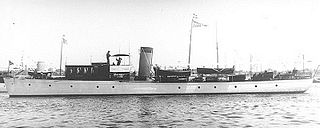 USS <i>Actus</i> yacht constructed in 1907