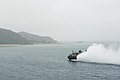 USS Bonhomme Richard, LCAC propels away from USS Green Bay (LPD 20) 150306-N-RU971-121.jpg