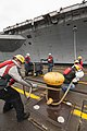 USS John C. Stennis enters dry dock. (9186108714).jpg