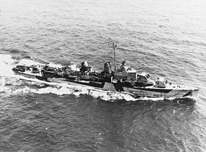 USS Meredith (DD-726) underway at sea on 16 April 1944 (NH 89423).jpg