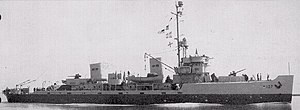 USS Prevail (AM-107) - Image: USS Prevail (AM 107)