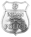 US Indian Police badge.png