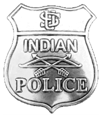 United States Indian Police - U.S. Indian Police badge ca. 1890
