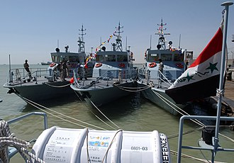 Iraqi Navy - Iraqi Predator Class patrol craft in 2004