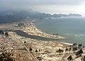 US Navy 050104-N-6817C-236 An aerial view of the Tsunami-stricken coastal region near Aceh, Sumatra, Indonesia.jpg