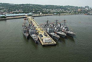 Naval Station New York - Image: US Navy 070528 N 5758H 116