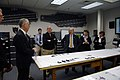 US Navy 070917-N-5549O-032 Secretary of the Navy (SECNAV) the Honorable Dr. Donald C. Winter receives a brief on Electromagnetic Aircraft Launch System (EMALS) at Naval Air Engineering Station.jpg