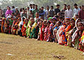 US Navy 071129-M-3095K-009 People gather on a field at Rangabali College in southern Bangladesh to receive medical attention from a U.S. Navy medical team in the wake of Tropical Cyclone Sidr.jpg