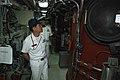 US Navy 090702-N-3283P-160 Members of the Japan Maritime Self-Defense Force Chief Mess tour the fleet ballistic missile submarine USS Michigan (SSBN 727).jpg