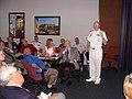 US Navy 100414-N-6754H-003 Rear Adm. William R. Kiser, commander of Naval Medicine Center, Portsmouth, Va., speaks before the San Antonio Chamber of Commerce Military Affairs Committee during San Antonio Navy Week.jpg