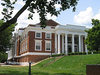 at the University of Virginia, Charlottesville, Virginia