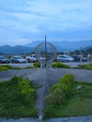 Ubatuba - Point where the Tropic of Capricorn crosses the city.