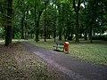 Uhříněves, Husovo náměstí, park (04).jpg