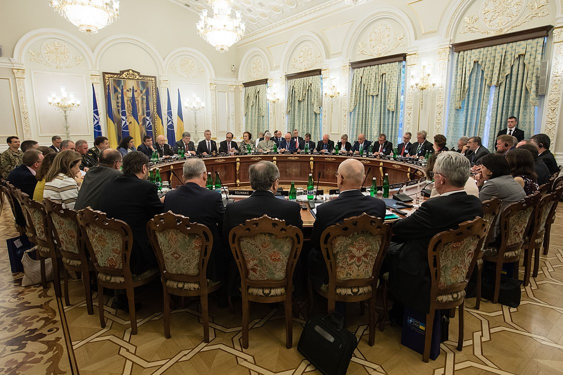 Ukraine – NATO Commission chaired by Petro Poroshenko (2017-07-10) 26.jpg