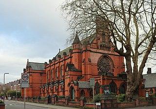 Ullet Road Unitarian Church Church in Merseyside, England