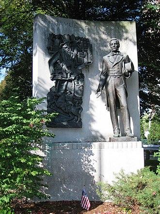 Samuel Wilson - Image: Uncle Sam Memorial Statue, Arlington, MA general view