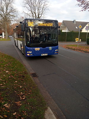 Paderborn University - Uni-Line bus