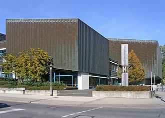 University of Tübingen - Auditorium building by Paul Baumgarten