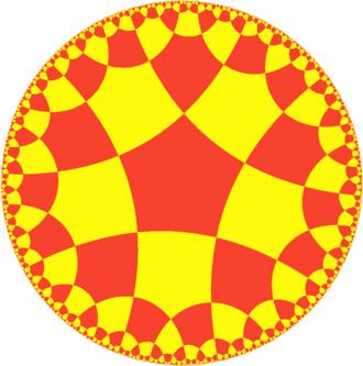 Order-4 pentagonal tiling - Image: Uniform tiling 552 t 1