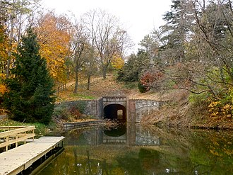 North Lebanon Township, Lebanon County, Pennsylvania - Tunnel on the Union Canal