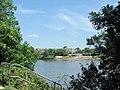 University of London Boathouses, Hartington Road, from the Thames Path, Kew - geograph.org.uk - 1335227.jpg