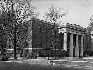 University of South Carolina Library - Historic photo of the South Caroliniana Library.