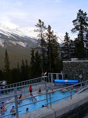 Banff Upper Hot Springs - Image: Upper Hot Springs Banf BNP 2529